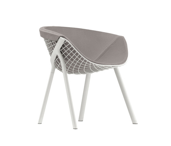 kobi chair pad large 040|044 by Alias | Restaurant chairs