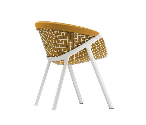 kobi chair pad large 040|044 de Alias | Chaises de restaurant