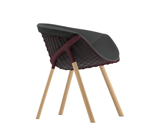 kobi chair pad large 041|044 by Alias | Restaurant chairs