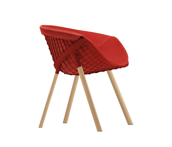 kobi chair pad large 041|044 de Alias | Chaises de restaurant