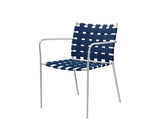 tagliatelle outdoor armchair 717 di Alias | Poltrone da giardino