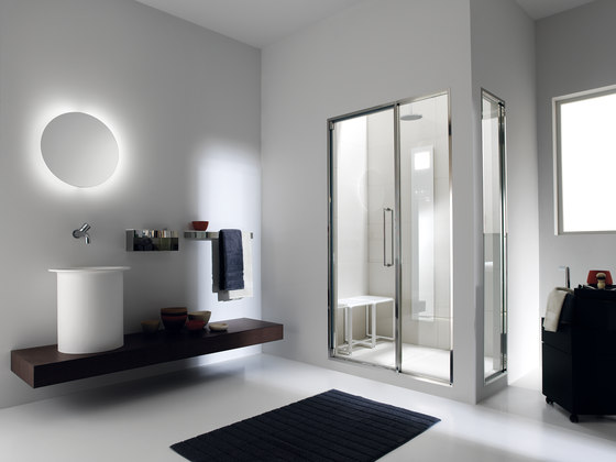 Touch&Steam with Spaziodue 105 door by EFFE PERFECT WELLNESS | Turkish baths