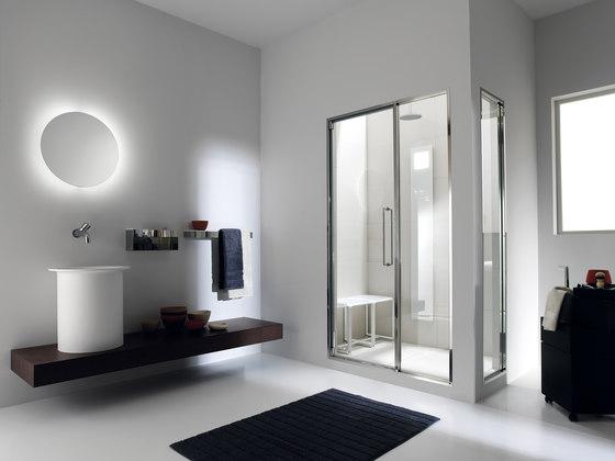 Touch&Steam with Spaziodue 105 door by Effegibi | Turkish baths