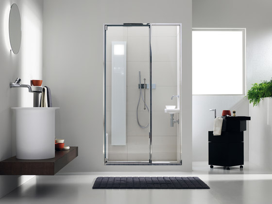 Touch&Steam with Spaziodue 105 door by Effegibi | Turkish baths