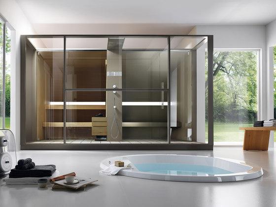 Logica Twin front by Effegibi | Saunas