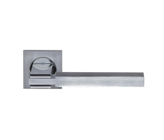 Quadra Door handle by GROËL | Lever handles