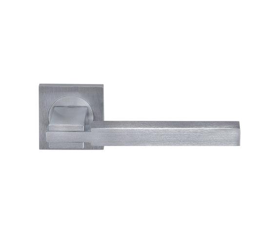 Quadra Door handle by GROËL | Lever handles