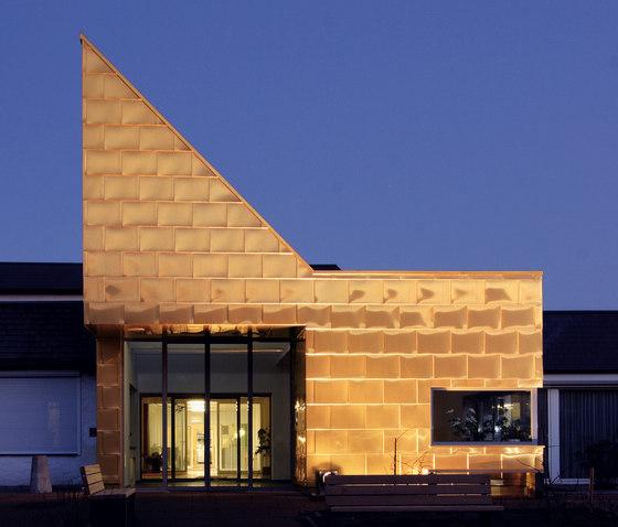 TECU® Gold | Facade by KME | Facade design