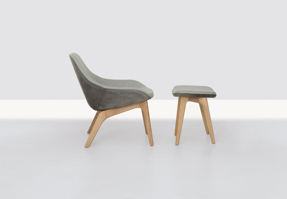 Morph Lounge and Pouf de Zeitraum | Fauteuils