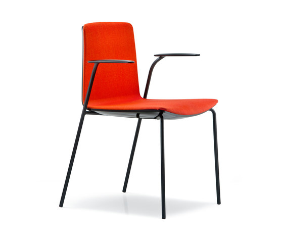 Noa 726 by PEDRALI | Visitors chairs / Side chairs