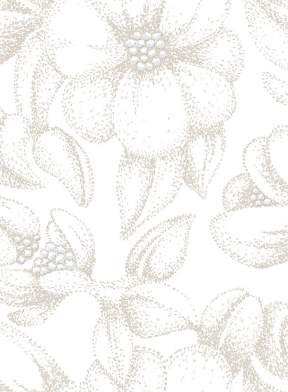 Bloom nude by BANTIE | Curtain fabrics
