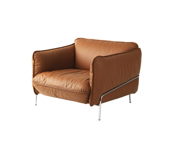 Continental easy chair von Swedese | Loungesessel