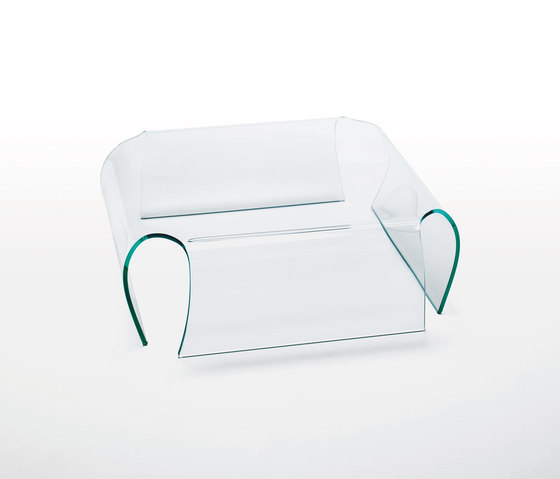 Bent Glass Table von Glas Italia | Couchtische