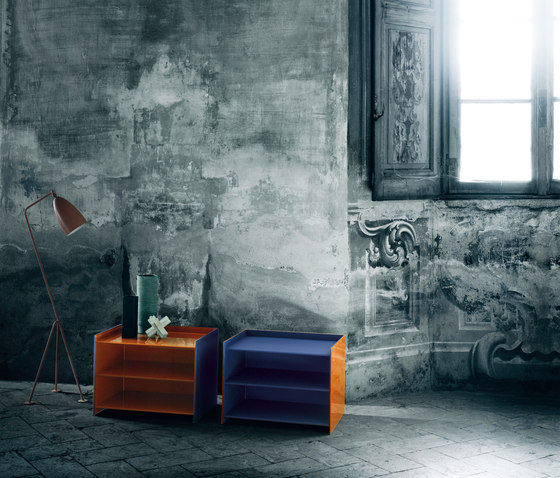 Dr. Jekyll and Mr. Hyde by Glas Italia | Night stands
