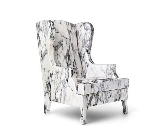 Louis XV Goes To Sparta armchair de Baleri Italia by Hub Design | Sillones lounge
