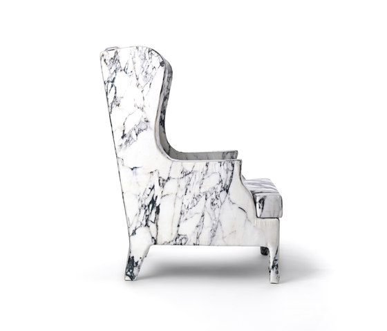Louis XV Goes To Sparta armchair by Baleri Italia by Hub Design | Lounge chairs