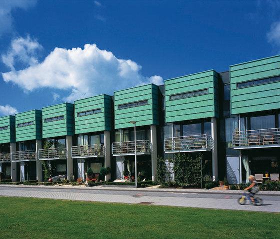 TECU® Patina | Facciata di KME | Facade design