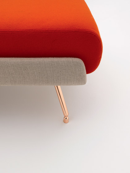 A&A Lounge Armchair von Knoll International | Loungesessel