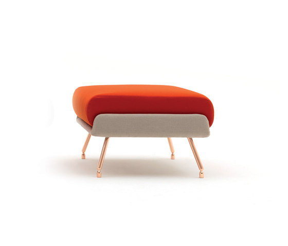 A&A Lounge Ottoman di Knoll International | Pouf