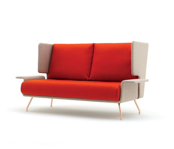 A&A Lounge sofa de Knoll International | Canapés d'attente