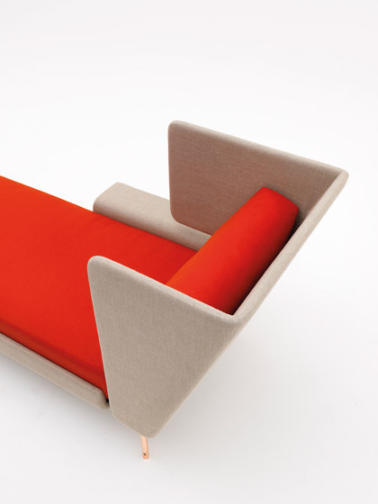 A&A Lounge Chaise Longue by Knoll International | Chaise longues