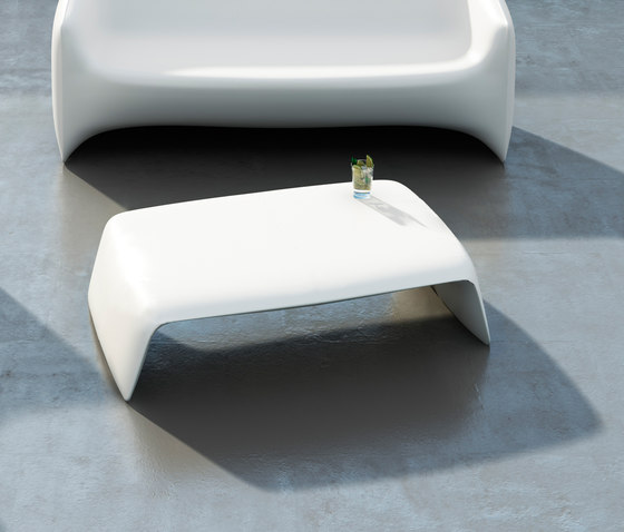 Blow low table de Vondom | Sofas de jardin
