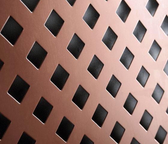 TECU® Classic_punch | Material by KME | Metal sheets / panels
