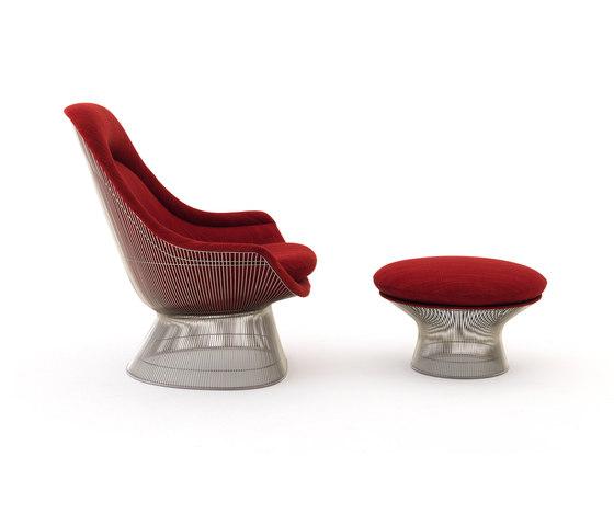 Platner Easy Chair + Ottoman de Knoll International | Sillones