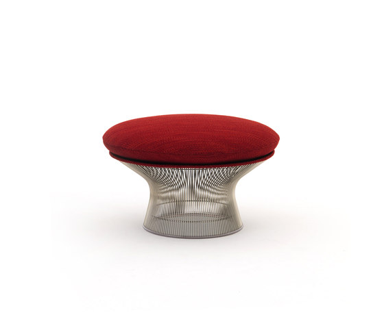 Platner Ottoman di Knoll International | Pouf