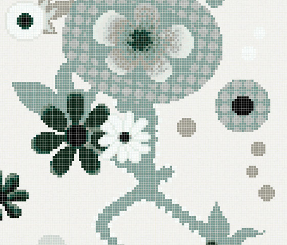 Daylight Garden B by Bisazza | Glass mosaics