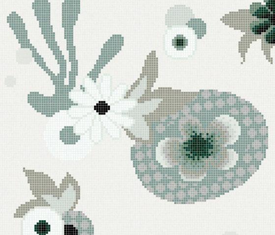 Daylight Garden A de Bisazza | Mosaicos de vidrio