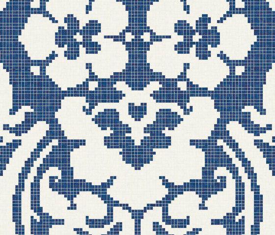 Decoupage Bleu by Bisazza | Glass mosaics