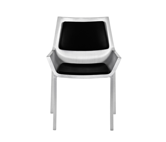 Sezz Side chair back pad de emeco | Chaises de restaurant