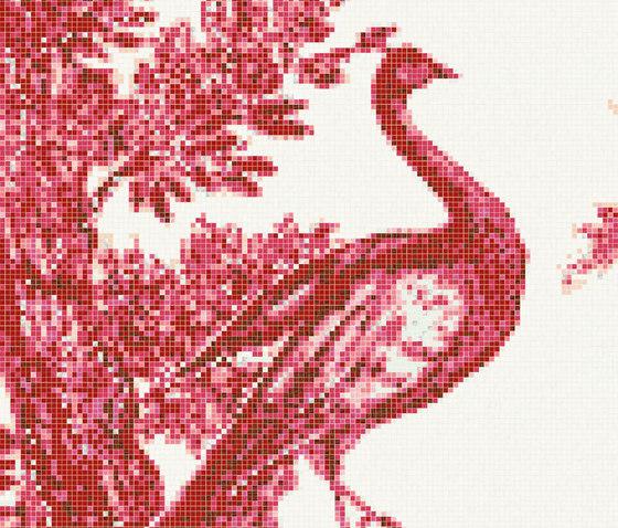 Jardin Rouge A von Bisazza | Glas Mosaike
