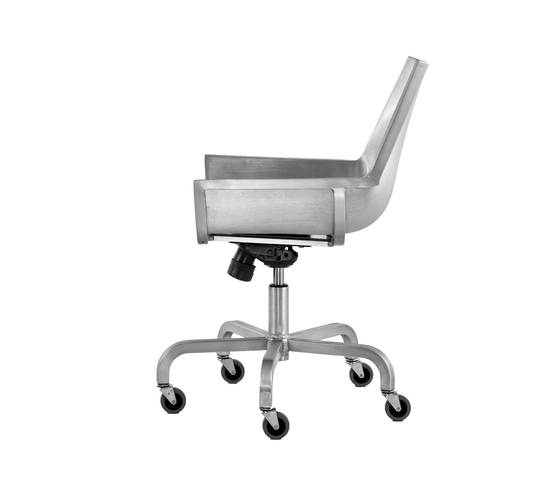 Sezz Swivel chair with castors de emeco | Chaises de travail