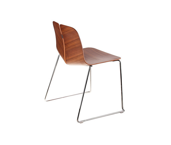 Link by lapalma | Visitors chairs / Side chairs