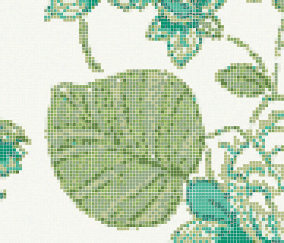 Marella Green B by Bisazza | Glass mosaics
