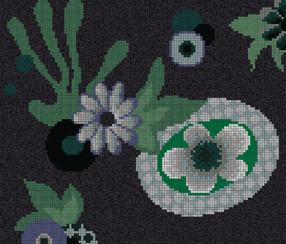 Moonlight Garden A di Bisazza | Mosaici