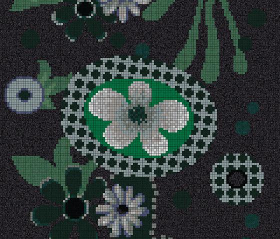 Moonlight Garden B di Bisazza | Mosaici in vetro