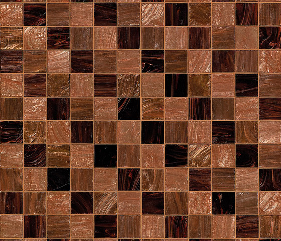 Steps Brown by Bisazza | Glass mosaics