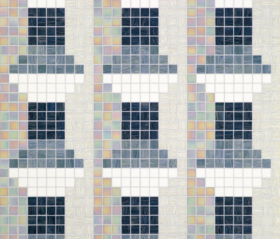 Windows Grey de Bisazza | Mosaicos de vidrio