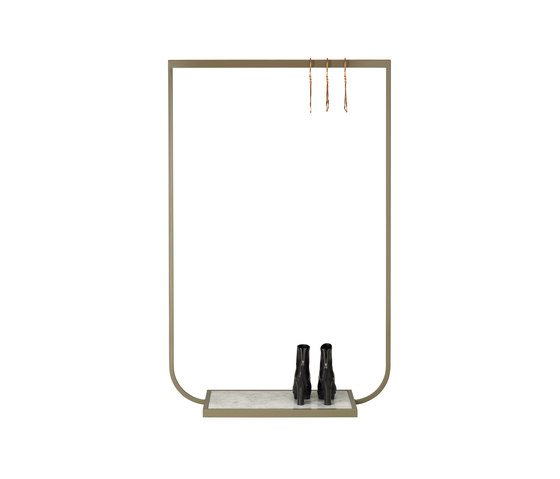 Tati Coat Rack small marble di ASPLUND | Stender guardaroba
