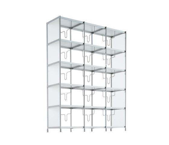 SEC bookshelf lib012 di Alias | Sistemi scaffale ufficio