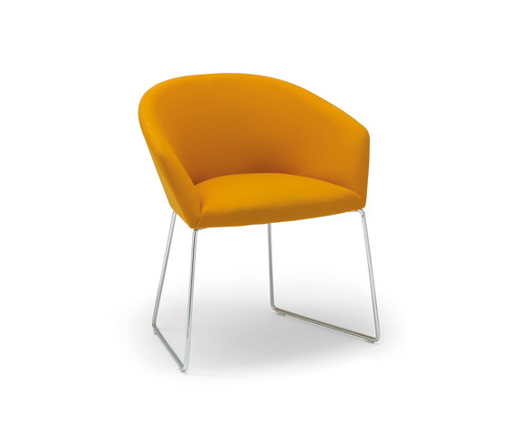 Brandy SO 2993 by Andreu World | Visitors chairs / Side chairs