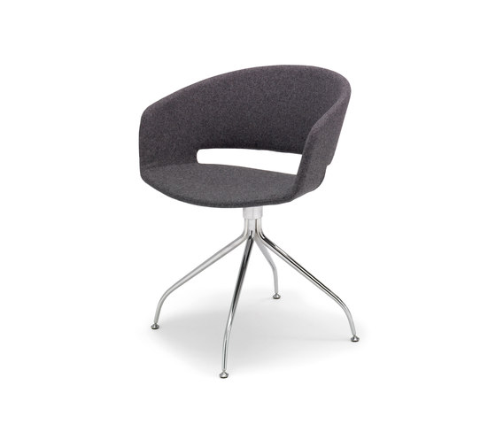 New Ronda Armchair de Andreu World | Sillas de visita