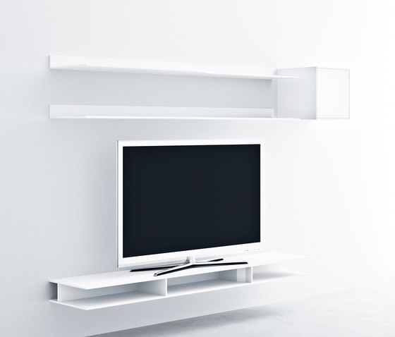 Easy Wave by MDF Italia | Wall shelves