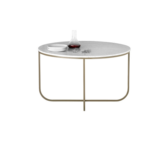 Tati Table 120 marmor de ASPLUND | Tables de repas