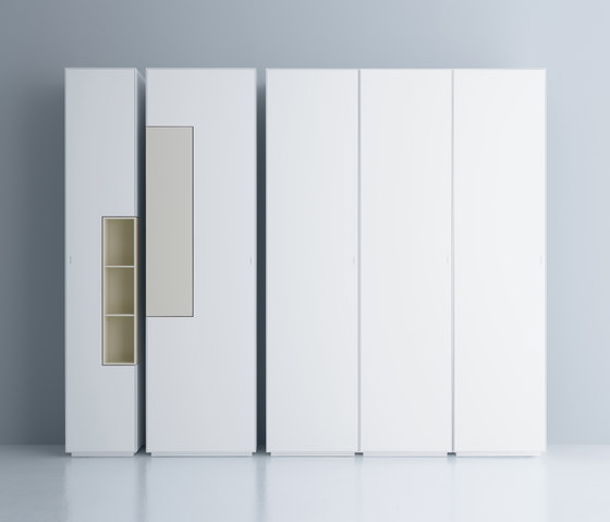 Inmotion wall system by MDF Italia | Cabinets