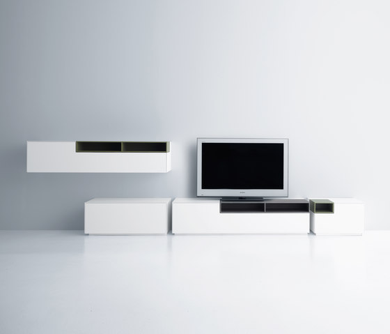 Inmotion wall system de MDF Italia | Armoires / Commodes Hifi/TV