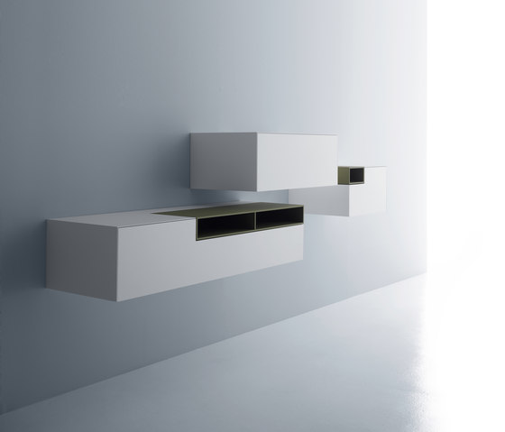Inmotion wall system von MDF Italia | Sideboards / Kommoden